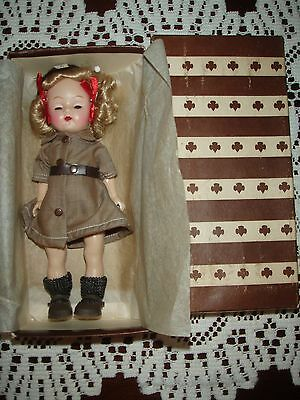 EXQUISITE Cosmopolitan GINGER BROWNIE SCOUT Doll MIB TERRI LEE HIGH COLOR 50S