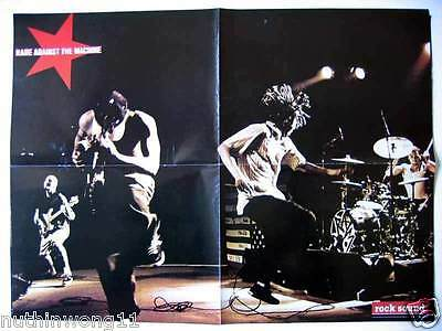 Poster Rancid   Rage Against The Machine   Hard Rock