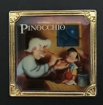 Disney Store Japan Pinocchio Pin LE1000 Delightful Edition Not sold in stores