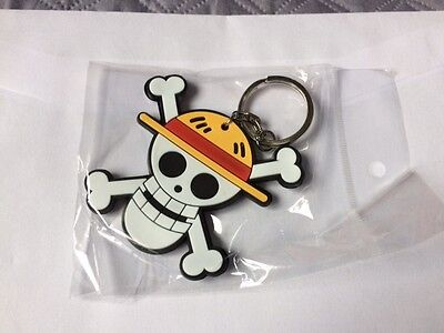 Porte Cle One Piece EMBLEME Luffy equipage   NEUF SOUS BLISTER