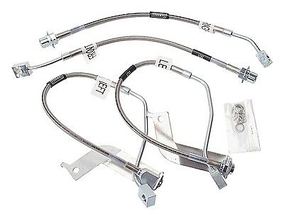 Russell 693290 Street Legal Brake Line Assembly 99-03 Mustang