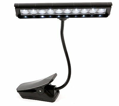 Alneo Light Flashy Mehrzweck-Orchester-Lampe Clip Pultleuchte LED mit 10 LEDs