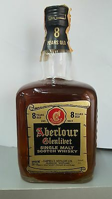 Very rare Aberlour Glenlivet  8 Years Old Highland Malt Scotch Whisky 75cl 43%