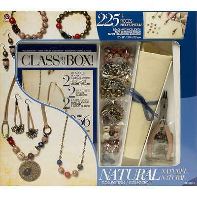 Jewelry Basics Class In A Box Kit-Natural 016321117709