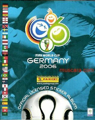 Panini World Cup Germany 2006 + South Africa 2010- Image - Stickers
