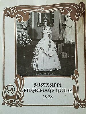 Mississippi Pilgrimage Guide 1978, Laura Parish, Miss Hospitality