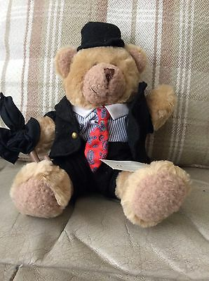 Stanley the Stockbroker - TEDDY BEAR COLLECTION - Tagged