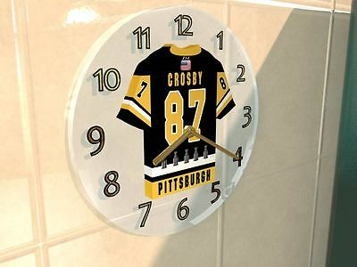 SIDNEY CROSBY PITTSBURGH PENGUINS NHL JERSEY Legends Clock - SID THE KID !!!!