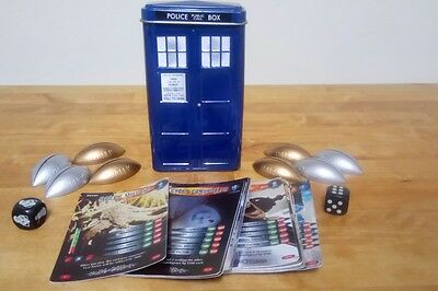 Doctor Who Battles In Time Trading Card Game - Tin Tardis