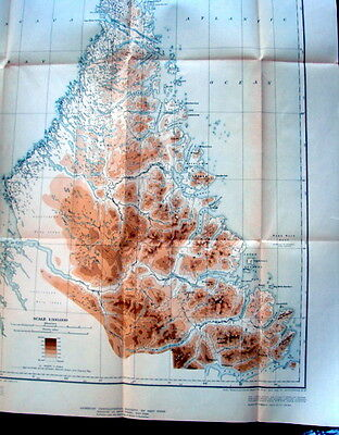 Northernmost Labrador Mapped from the Air -1938- Canada -Book + Maps in slipcase