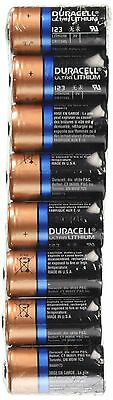 DL123A Duracell Ultra Lithium 8 Batteries-CR123A Ultra Lithium 123 - 8 Count