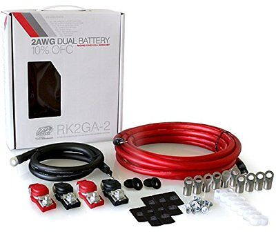 Xp Flex 2 Awg Dual Battery Light-Weight Racing Cable Kit