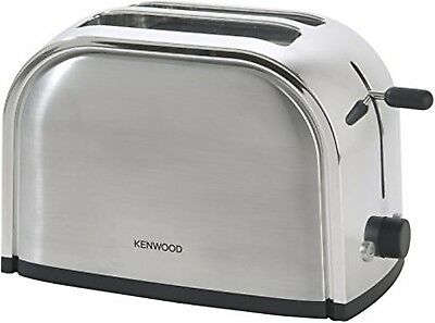 Kenwood Toaster TTM100 900W 2 slice brushed & polished metal effect