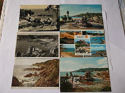Picture postcards Channel Islands x 7