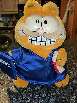 Vintage Garfield 1981 Stuffed Plush Toy United Feature Syndicate