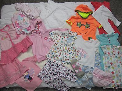 summer baby girl 3-6months clothes bundle