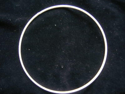 """5 X 22"""" Wire Rings  For  Lampshades, Macrame, Stained Glass  And Other Crafts"""