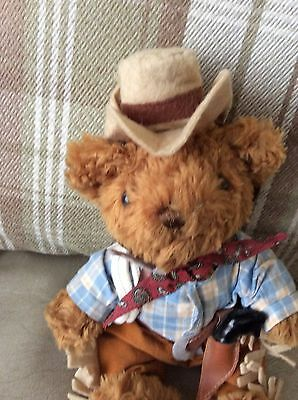 TEDDY BEAR COLLECTION- CLINT THE COWBOY  - Tagged