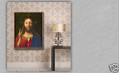 Catholic Church Portrait Jesus Christian Blessed Holy Classical Art Painting G