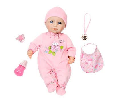Baby Annabell Doll Girls Interactive Toy Dolly Zapf Creation Moving Clothes NEW
