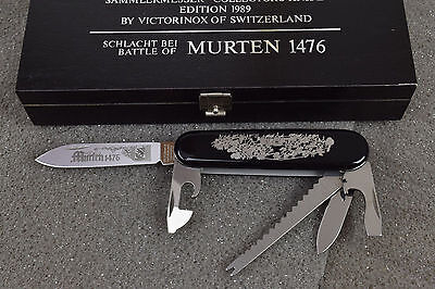 Victorinox Collector Series Battle of Murten Sammlermesser Schlacht bei Murten