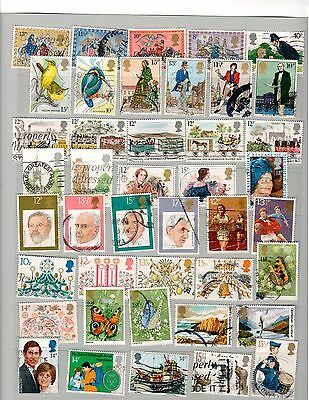 Lot 7 of Great Britain  Commemorative Postage Stamps  Used