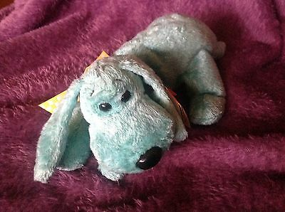 "Beanie Baby vintage retired 1990 dog by TY.  ""Diddley"""