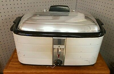 1940's Vintage GE Automatic Roaster 153C19. Good solid working unit.