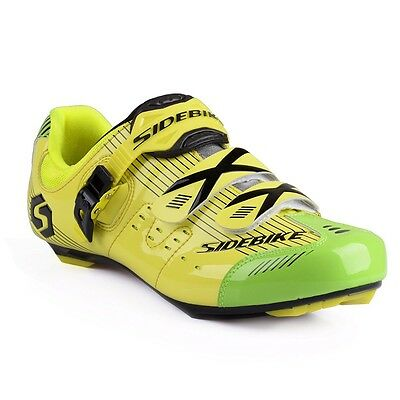 Men's Professional Breathable Road Race Cycling Shoes Road Biking Shoe
