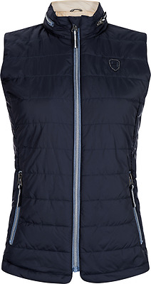 HV Polo Mico Womens Quilted Bodywarmer - Navy Blue