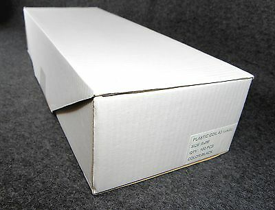Plastic Spiral Binding Coils 1 Box 100 Count Black 6mm New     Free Shipping