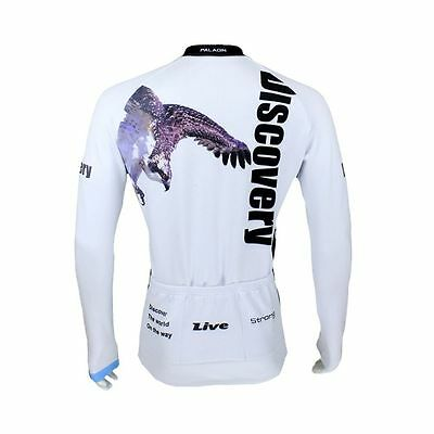 Cool Eagle Cycling Bike Long Sleeve Clothing Bicycle Sportwear Jersey Top