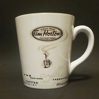 Tim Hortons Always Fresh Toujours Frais Limited Edition 005 Cup / Mug