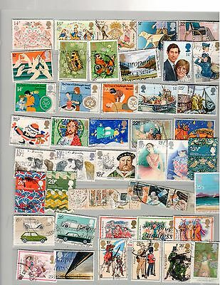 Lot 8 of Great Britain Commemorative Postage Stamps  Used