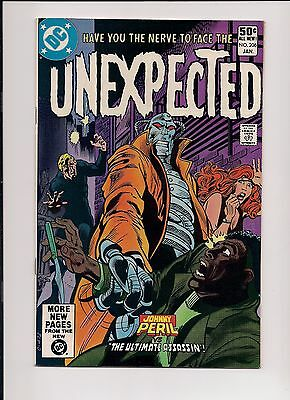 The Unexpected #206 NM- 9.2 High Grade, DC Bronze Age Horror