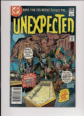 The Unexpected #210 NM- 9.2 High Grade, DC Bronze Age Horror