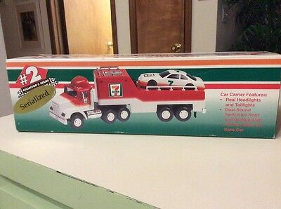 1996 7-11 Limited Edition Toy Race Car Carrier MIB