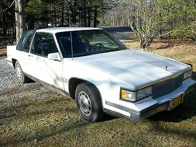 1988 Cadillac DeVille 2 DOOR COUPE 1988 CADILLAC COUPE DEVILLE 4.5 V8 AC 173K Runs Good, Drives & Looks GREAT!