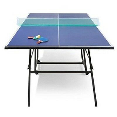 Folding Table Tennis Table - fully assembled