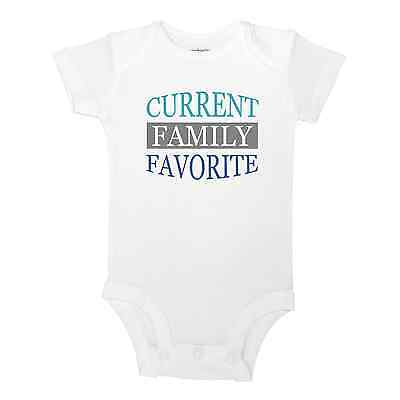 Current Family Favorite Cute Baby One Piece Bodysuit Or Toddler Kids T-Shirt