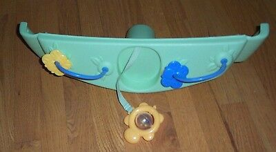 Fisher Price Nature's Touch Papasan Cradle Swing Replacement Toy Food Tray