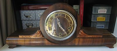 Vintage Smiths Enfield Chime Clock
