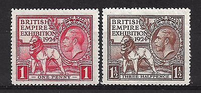 GREAT BRITAIN 1924 British Empire Exhibition MNH.