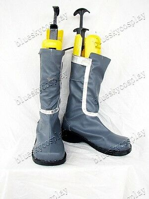 Ghost in the Shell   Motoko Kusanagi cosplay shoes boots Custom-Made 371 hot
