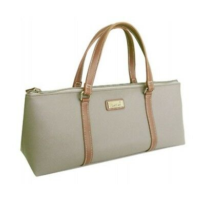 Sachi Taupe Insulated Wine Bag