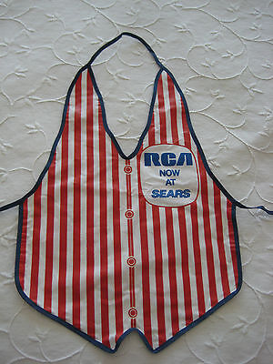 Mega Rare Vintage Rca Now At Sears Old Promotional Apron
