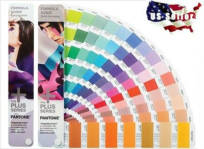 Pantone Formula Guide Set Solid Coated & Solid Uncoated GP1601N - 1867 Colors