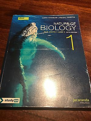 Nature of Biology VCE units 1&2 7th edition