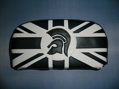 BW Union Jack/Trojan Scooter Back Rest Cover (Purse Style)