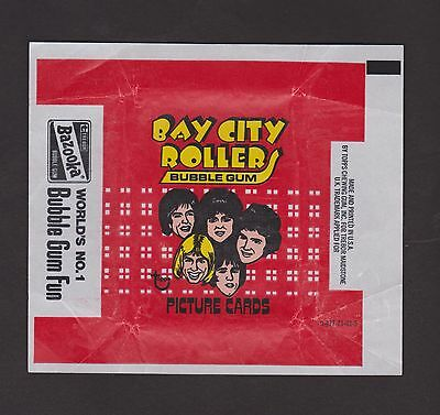 1975  Topps  Bay City Rollers   Wrapper